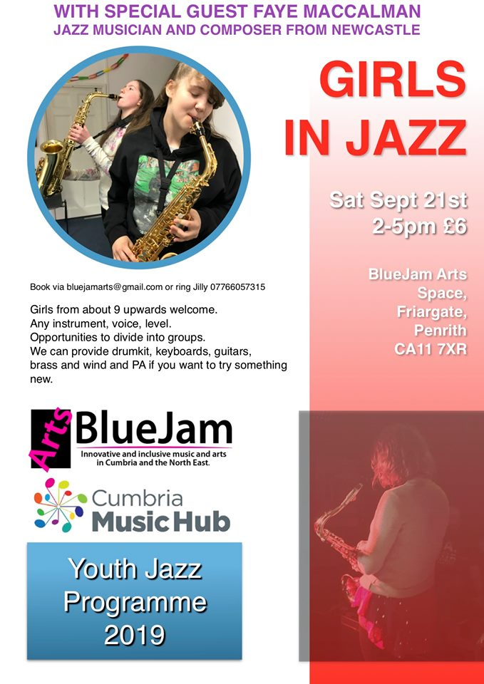 Girls in Jazz @ BlueJam Art Space, Penrith